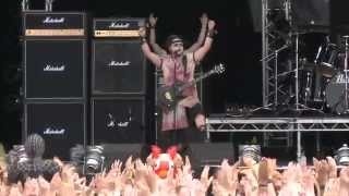 Evil Scarecrow Crabulon Live at Bloodstock 2014
