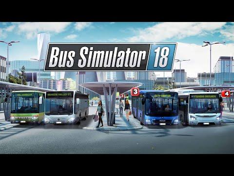 Het is weer zo'n video, er gaat van alles mis!! - Bus Simulator 2018