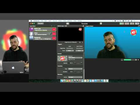 """YouTube """"Stream now"""" live streaming with mimoLive on the Mac"""