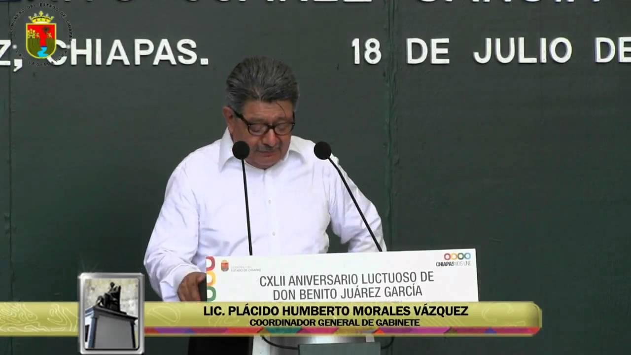 CXLII Aniversario Luctuoso de Don Benito Juárez García 18 de Julio de 2014