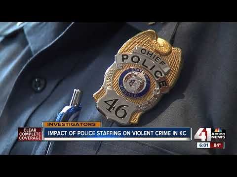 Impact of police staffing on violent crime in KC