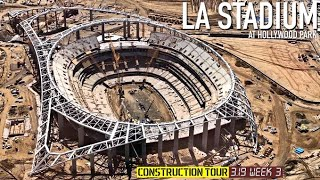 Rams Chargers LA Stadium Latest Look  👀 Tour March '19