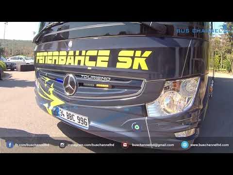 Bol Çakar Lambalı Yeni Tourismo 2018 - Fenerbahçe Takım Otobüsü