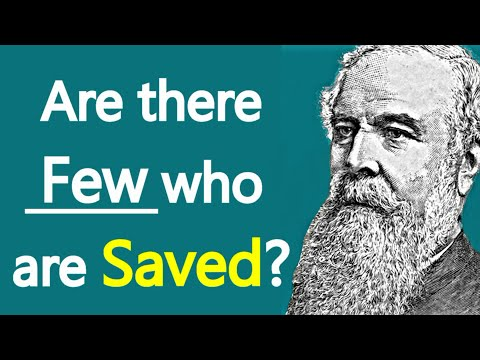 Few Saved - J. C. Ryle Sermon / Audio Book