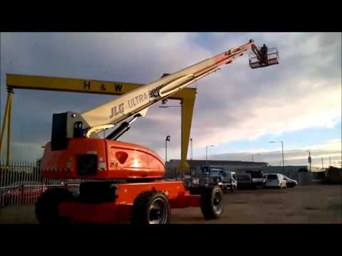 JLG Ultra Boom 1350SPJ at Balloo Hire Centres