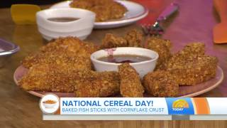 TODAY Show - National Cereal Day Recipes