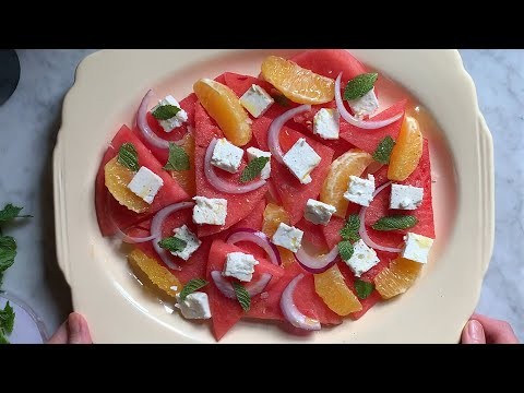 Watermelon, Orange, and Feta Salad   The Perfect Holiday Side Dish   Everyday Food
