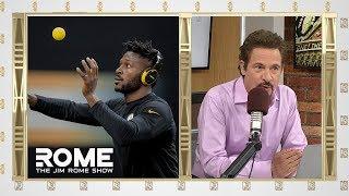 Antonio Brown Post Bizarre Workout Video   The Jim Rome Show
