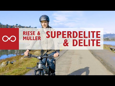 Review: Riese & Muller Delite & Superdelite Full Suspension Electric Bike
