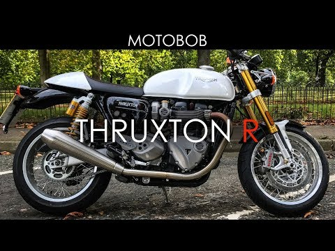 2018 Triumph Thruxton R Test Ride & Review, London
