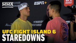 UFC Fight Island 6 Weigh-In Staredowns - MMA Fighting