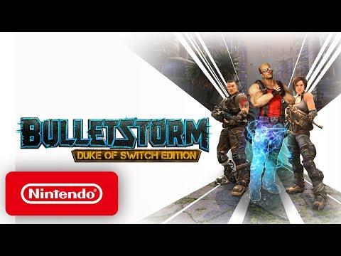 Bulletstorm - Launch Trailer - Nintendo Switch