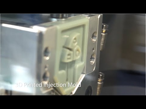 3D Printing Prototype Injection Mold Tooling Live at the Stratasys Booth