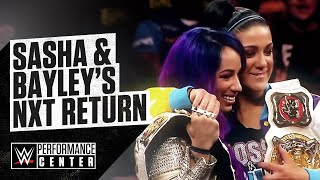 WWE NXT Dusty Rhodes Classic Brackets, Sasha Banks And Bayley Behind-The-Scenes, NXT TV Tapings
