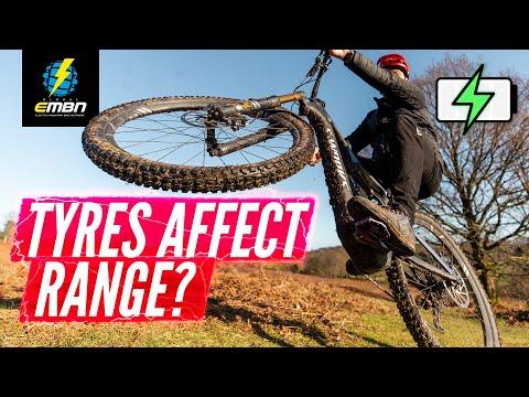 How Do Tires Affect Your EMTB's Battery Range?