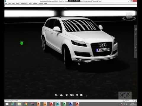 Sesión de trabajo remota con Autodesk Showcase 2014