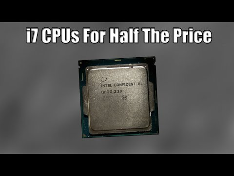 "The Story of The Cheap ""Intel Confidential"" Processors"