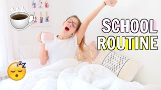 SCHOOL MORNING ROUTINE 2018 ☕️✏️ | School Routines Part 1