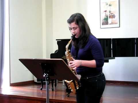 Aula Galega de Saxofón - Estudio Nº 6 de W. Ferling