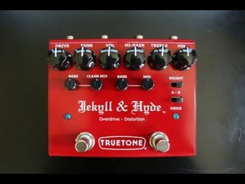 Visual Sound True Tone Jekyll & Hyde Version 3 Distortion & Overdrive Pedal