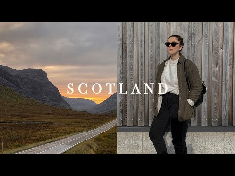 VLOG | A Road Trip to Scotland | I Covet Thee