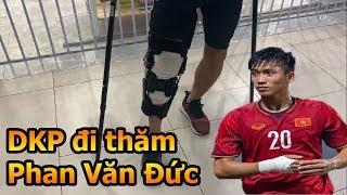 Đỗ Kim Phúc đi thăm Phan Văn Đức ĐT Việt Nam tại Singapore - Thử Thách Bóng Đá