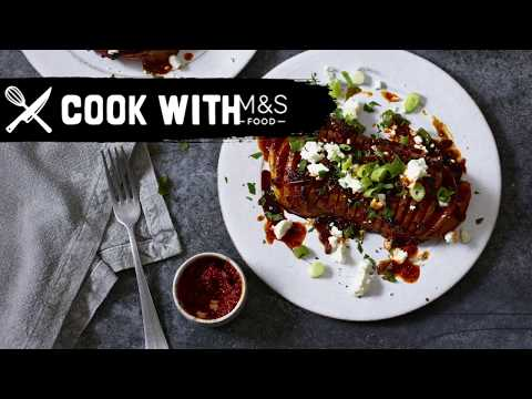 marksandspencer.com & Marks and Spencer Promo Code video: M&S | Cook With M&S... Sweet & Sticky Harissa Roasted Squash