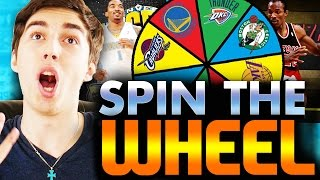 SPIN THE WHEEL OF NBA TEAMS! NBA 2K16 SQUAD BUILDER
