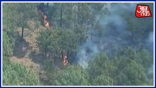 Aaj Subah: Major Fire Breaks Out At Kashmir's Naushera's Forest