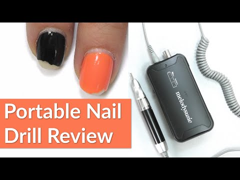 Melody Susie Portable Nail Drill Review | Gel Overlay Removal