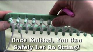 Spinrite / Bernat / Patons Loom Knitting Tutorial