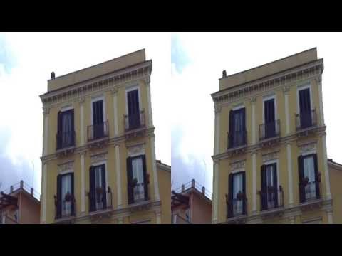 Carpino in 3D by 3Dstreaming.org (YT3D) Puglia Gargano