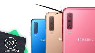 Samsung presenta smartphone con triple cámara (Galaxy A7 2018) | El Recuento Go