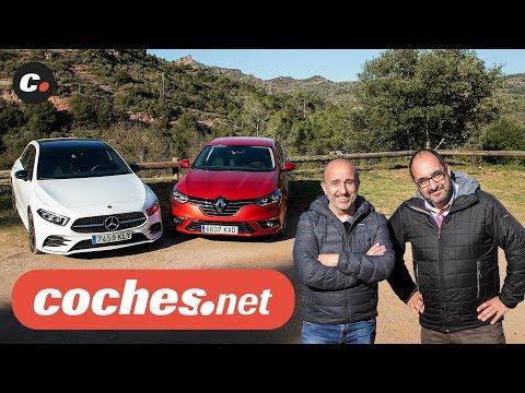 Renault Mégane vs Mercedes-Benz Clase A 2019 | Prueba Comparativa / Review en español | coches.net
