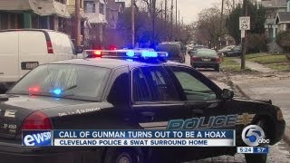 Police: Standoff call a hoax; 1 arrested