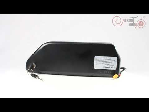 EU Stocked Ebike 48V 52V 19.2AH Panasonic Tesla Cell Polly Frame Case Battery with 5A Charger