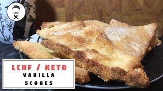 American Vanilla Scones || The Keto Kitchen