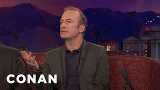 Bob Odenkirk Went From Selling Corncobs To Acting With Meryl Streep  - CONAN on TBS