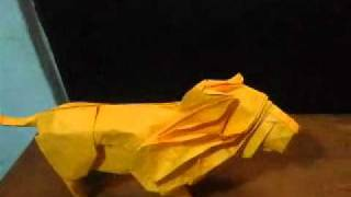origami leon de satoshi kamiya