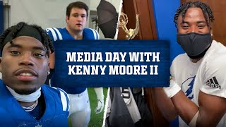 Behind the Scenes at Colts Media Day with Kenny Moore II