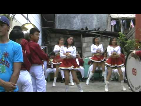 Marching Band & Dancers at Sto. Nino Fiesta in the Philippines