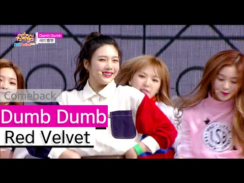 [HOT] Red Velvet - Dumb Dumb, 레드벨벳 - 덤덤, Show Music core 20150912