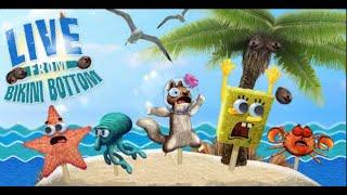 SPONGEBOB SQUAREPANTS LIVE FROM BIKINI BOTTOM free online funny games