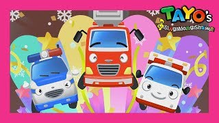 Tayo The brave cars and it's Christmas! l Tayo's Sing Along Show 1 l Tayo the Little Bus