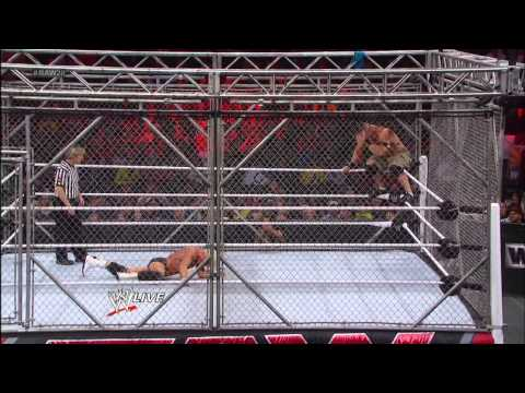 John Cena vs. Dolph Ziggler: Steel Cage Match - Raw, Jan. 14, 2013