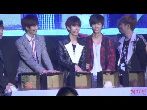 122813 KPOPCON5 Boyfriend Guessing Game.