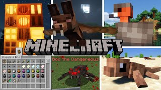 Top 10 Minecraft Mods Of The Week | Chisels & Bits, Off Hand Combat, Direbats, Undefeatables & More!