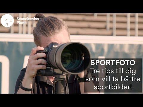 Tre tips till dig som vill ta bättre sportbilder!