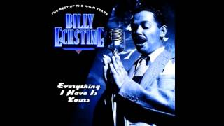 Billy Eckstine sings Tenderly