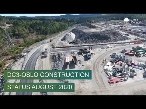DC3-Oslo Construction Status September 2020
